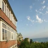 Вид на море из гостевого дома