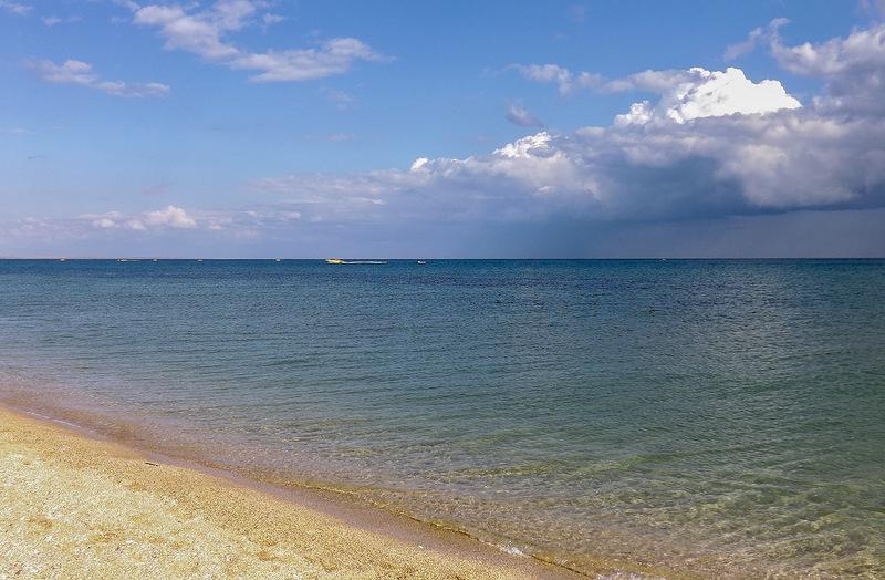 Береговое крым фото пляжа