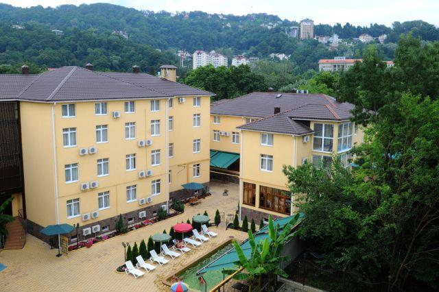 Отель в Хосте — Green Hosta