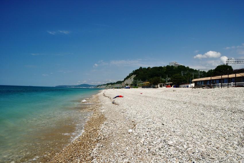 поселок солоники лазаревское фото пляж